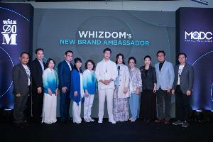 Whizdom Society by MQDC เปิดตัว Whizdom Brand Ambassador คนล่าสุด นาย ณภัทร เสียงสมบุญ