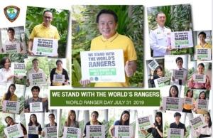 โพสต์รึยัง? สำนักอุทยานฯ ชวนคนไทยโพสต์ส่งกำลังใจวันผู้พิทักษ์ป่าโลก