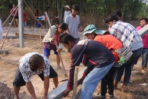เครือข่ายฯ ชุมชนคนโคราช-พอช.มอบบ้านพอเพียง 430 ครอบครัว
