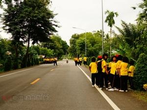 ชาวบ้านพัทลุงร่วมใจปลูกต้นไม้ริมถนน สร้างความร่มรื่นและความสุขแก่ผู้ขับขี่