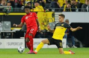 """""""ซานโช"""" ยิงท้าย """"เสือเหลือง"""" ทุบเสือใต้ 2-0 ซิวถ้วยเยอรมัน"""