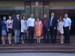 จีน-ไทย แลกเปลี่ยนความรู้รักษามะเร็ง รพ.มะเร็งสมัยใหม่กว่างโจวเปิดบ้านรับชาวไทยเยี่ยมชมนวัตกรรมรักษามะเร็ง