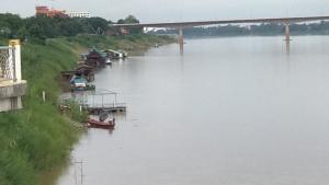 แจ้งเตือนเจ้าของโป๊ะเรือ-เกษตรกรเลี้ยงปลากระชังเตรียมรับมือน้ำโขงเพิ่มขึ้นฉับพลัน
