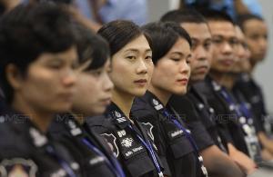 ตำรวจศาล พร้อมปฏิบัติหน้าที่ ดูแลความปลอดภัย ไล่ล่าผู้หนีประกัน
