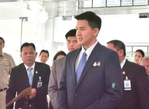 รัฐมนตรีช่วยว่าการกระทรวงคมนาคม ตรวจติดตามการดำเนินงานของ การท่าเรือแห่งประเทศไทย