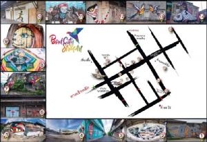 """เช็คอินชิลๆ """"Bird City Street Art"""" สตรีทอาร์ตเมืองยะลา"""