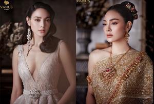 """มิติใหม่ชุดไทยสุดอลังกับ """"ตั๊ก บงกช"""" เซ็กซี่บนความงดงาม"""