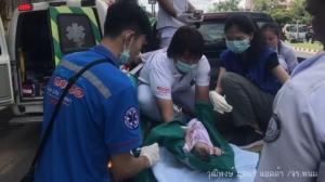 สุดดีใจ! สาวเมืองดอกบัวคลอดลูกวันแม่ บนรถกระบะระหว่างนำส่งโรงพยาบาล