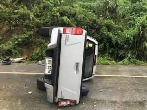 สลด! เจ้าคณะอำเภอชุมแพมรณภาพจากอุบัติเหตุรถยนต์พลิกคว่ำที่ จ.แพร่