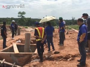 คนงานลงทำท่อบ่อบำบัดที่สงขลา ขาดอากาศหมดสติ ล่าสุดดับแล้ว 3 ราย