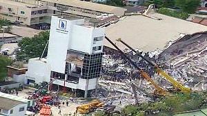 ช็อกโลกเมื่อโรงแรมเมืองไทยถล่มทั้งหลัง! โศกนาฏกรรมติดอันดับเป็นรองเวิร์ลเทรดเซ็นเตอร์!!