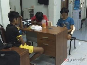 ตำรวจจับ 3 วัยรุ่นเมืองลุง ลงมืองัดหน้าต่างขโมยเงินร้านขายของชำในปั๊มน้ำมัน