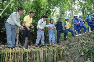 กรมป่าไม้ร่วมกับนายอำเภอและประชาชนพร้อมใจฟื้นฟูป่า อ.แม่แจ่ม ในพื้นที่ คทช.พร้อมสนับสนุนปลูกไม้มีค่า จำนวนกว่าล้านต้น