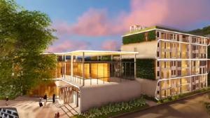 ภาพจำลองอาคารต้อนรับส่วนหน้า VIP MERCURY