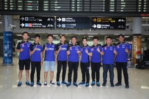 ทัพนักแข่งไทยยามาฮ่ากลับถึงไทยเมื่อวันที่ 12 สิงหาคมที่ผ่านมา