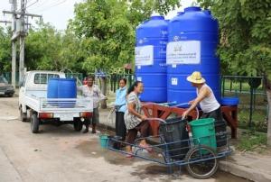 ชาวเมืองช้างยังอ่วมขาดน้ำ! กรมทรัพย์ฯ ลุยเจาะบ่อบาดาลสู้แล้งเพิ่ม ด้าน อบจ.ระดมรถน้ำออกแจกทุกวัน