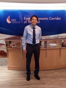 นายคณิต แสงสุพรรณ เลขาธิการคณะกรรมการนโยบายการพัฒนาระเบียงเศรษฐกิจพิเศษภาคตะวันออก (EEC)