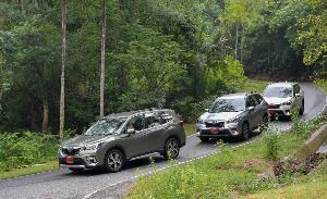 ซูบารุ ฟอร์เรสเตอร์ ขับสี่ล้อ ขับสบายตอบโจทย์รถครอบครัว