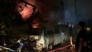 ไฟไหม้บ้านประชาชนในซอยรัตนาธิเบศร์ 8 วอดทั้งหลัง