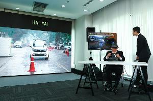 'เอไอเอส' โชว์ทดสอบ 5G ข้ามภูมิภาค ควบคุมรถยนต์ไร้คนขับ