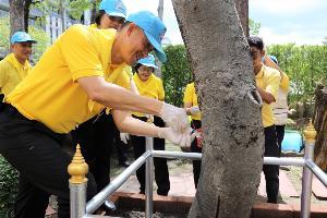 """กรมป่าไม้ จัดโครงการจิตอาสาพัฒนา """"เราทำความ ดี ด้วยหัวใจ"""" พร้อมหน่วยงานในภูมิภาคทั่วประเทศ"""