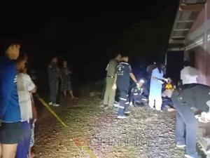 หนุ่มใหญ่เมืองคอนควงปืนสั้นบุกยิงขู่ เจอคนจริงใช้ปืนยาวยิงสวนเสียชีวิตคาที่