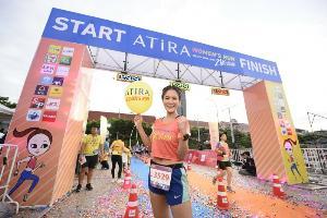 """""""ก้อย รัชวิน"""" จัดวิ่งการกุศลครั้งแรก ช่วยเหลือผู้ป่วยมะเร็ง"""