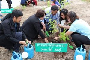 อมตะซิตี้ ชลบุรี จัดกิจกรรมปลูกป่าเฉลิมพระเกียรติ พระบรมราชชนนีพันปีหลวง