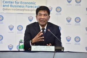 ผศ.ดร.ธนวรรธน์ พลวิชัย ผู้อำนวยการศูนย์พยากรณ์เศรษฐกิจและธุรกิจ มหาวิทยาลัยหอการค้าไทย