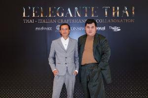"""ไอคอนสยาม สร้างปรากฏการณ์แฟชั่นไทย  ในนิทรรศการ """"L'ELEGANTE THAI"""" คอลเลคชั่นสุดพิเศษจากการออกแบบด้วยผ้าไทยของ 2 แบรนด์แฟชั่นชื่อดังระดับโลก"""