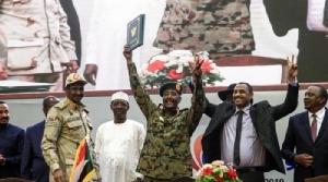 ความสำเร็จของข้อตกลงแบ่งอำนาจวันเสาร์(17)เกิดมาจากโบรกเกอร์คือ  สหภาพแอฟริกา (African Union: AU) และเอธิโอเปีย