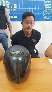 ไม่พ้นมือตำรวจ! จับแล้วหนุ่มควงปืนจี้เซเว่นฯ พิษณุโลกคืนเดียว 3 สาขา หนีกบดานขอนแก่น
