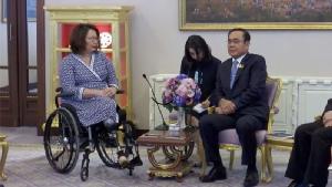 """""""แทมมี ดักเวิร์ธ"""" พบนายกฯ ชื่นชมพัฒนาการการเมือง-เศรษฐกิจไทย เชื่อมั่นสองประเทศสานสัมพันธ์ใกล้ชิด"""