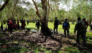 ผู้ว่าฯ พัทลุง สั่งเร่งระดม จนท.หลายฝ่ายเข้าดับไฟป่าพรุ สลดพบสัตว์ป่าถูกย่างสดดับ