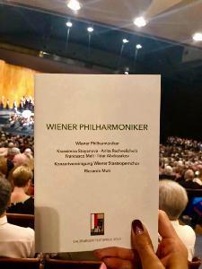 เจ้าฟ้าสิริวัณณวรีฯ เสด็จร่วมชมการแสดง คอนเสิร์ตของวงเวียนนา ฟิลฮาร์โมนิก ออร์เคสตรา ณ ประเทศออสเตรีย