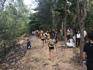 วัยรุ่นจิตอาสาแห่ร่วมกลุ่ม Trash Hero Bangkok นักศึกษา ปนป. หนุนลุยเก็บขยะในแม่น้ำ