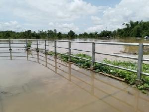น้ำโขงเพิ่มต่อเนื่องหวั่นน้ำท่วมนครพนมซ้ำปี 60 แจ้งเตือนชาวบ้านพร้อมเก็บของหนี
