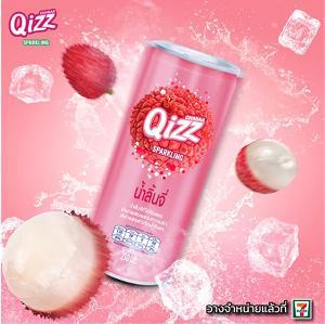 ใหม่! Qizz Sparkling Juice รสลิ้นจี่ น้ำผลไม้ผสมโซดา สดชื่นซ่า ท้าให้ลอง