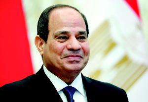 นายพลอับดุล ฟัตตาห์ อัล-ซีซี ประธานาธิบดีอียิปต์