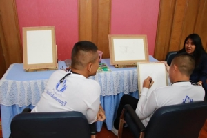 ราชทัณฑ์ เปิดโอกาสให้ผู้ต้องขัง แข่งร้องเพลง วาดรูป เชิญนักร้องดัง ศิลปินเป็นกรรมการ