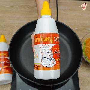 น้ำมันหมู By Chef Moo ครั้งแรกพลิกโฉมน้ำมันหมูขวดทันสมัย ยกระดับน้ำมันเกรดพรีเมี่ยม