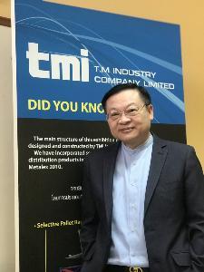 นายธนกฤต อัศวศรีวรกุล รองกรรมการผู้จัดการ บริษัท ทีเอ็ม อินดัสตรี จำกัด (ทีเอ็มไอ)