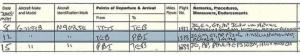 บันทึกการบินของเครื่องบินเจฟฟรีย์ เอ็พสตีน ปี 2001 ที่ถูกบรรทึกโดยนักบินของเอ็พสตีนโดยมีเจ้าชายแอนดรูว์เป็นหนึ่งในผู้โดยสาร