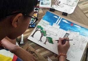 """""""Dreamunity : 5 มิติชุมชนในฝันที่เราสร้างได้""""งานศิลป์ที่สะท้อนการพัฒนาชุมชนอย่างยั่งยืน"""