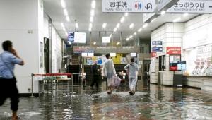 น้ำท่วมใหญ่คิวชู ทำให้มีผู้เสียชีวิต 2 ราย (ชมคลิป)