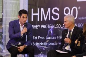 """""""กันต์"""" ร่วมงานเปิดตัว """"ผลิตภัณฑ์เสริมอาหาร HMS90 (Immunocal)"""" พร้อมแชร์วิธีดูแลสุขภาพ"""