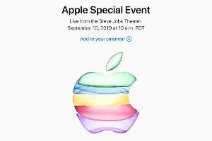 สีเขียวของโลโก้ Apple ในบัตรเชิญ บอกใบ้ว่า iPhone XR รุ่นใหม่อาจมีเวอร์ชันสีเขียวเพิ่มเข้ามา