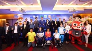 'ซีพี' เสริมแกร่งหนุนทัพนักกีฬาคนพิการทีมชาติไทยแสดงศักยภาพสู้ศึก อาเซียนพาราเกมส์-พาราลิมปิกเกมส์ เติมเต็มด้านโภชนาการครบหมู่-การสื่อสารไร้ขีดจำกัด