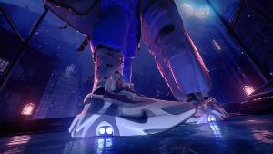 ตัวรองเท้ายังติดไฟ LED ไว้โดดเด่นเหมือนกับรองเท้ารุ่นก่อนหน้า