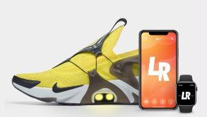 การควบคุมรองเท้า Nike Adapt Huarache สามารถทำได้ด้วยการพูดกับ Siri บน iPhone